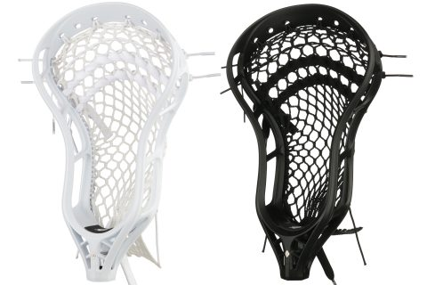 StringKing Mark 2V Men's Midfield Lacrosse Head Strung Black White Category Image