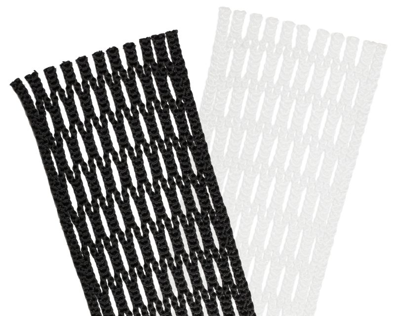 StringKing Women's Lacrosse Stick Mesh Product Category Image White Black