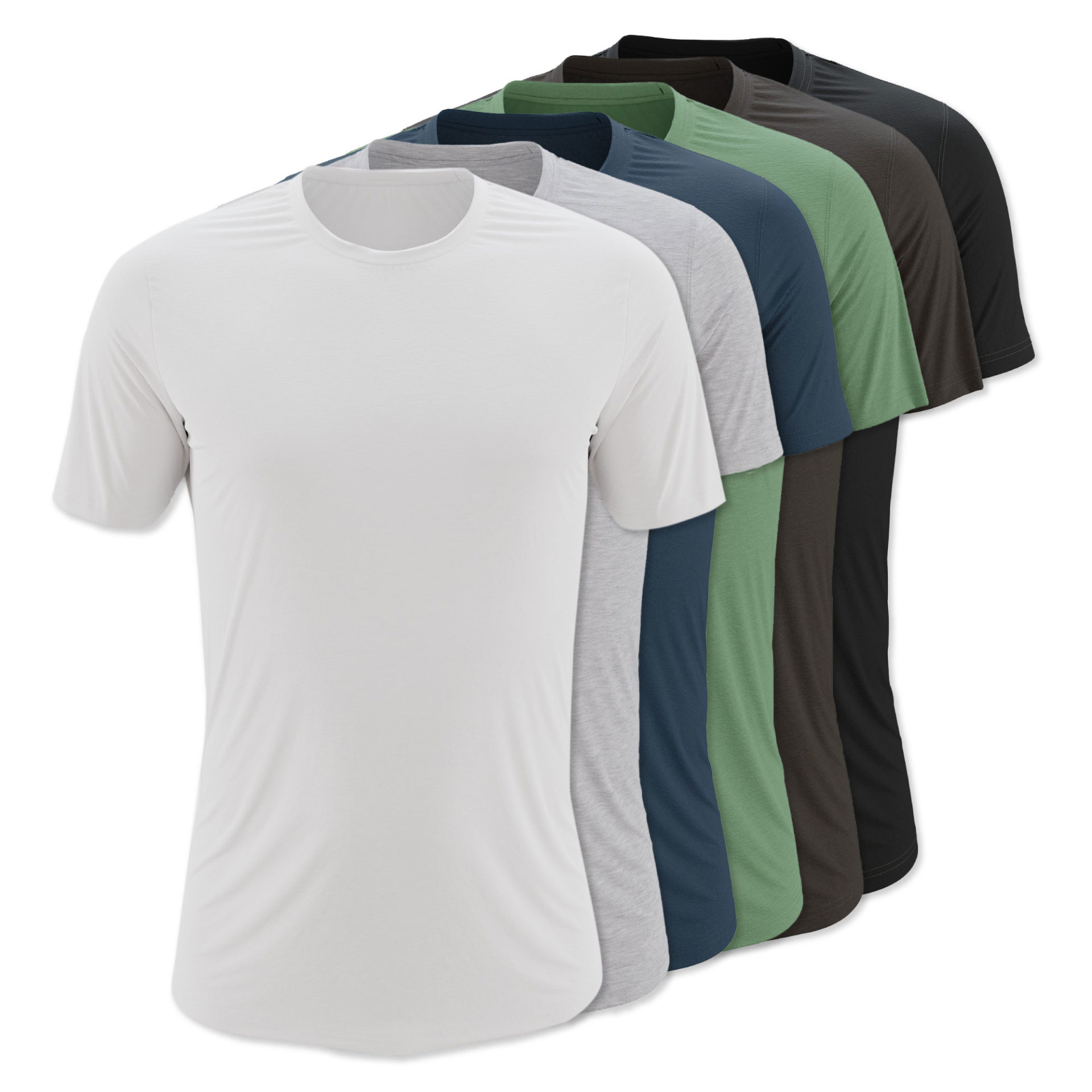 StringKing Apparel Custom Fit Tee Shirts Color Options